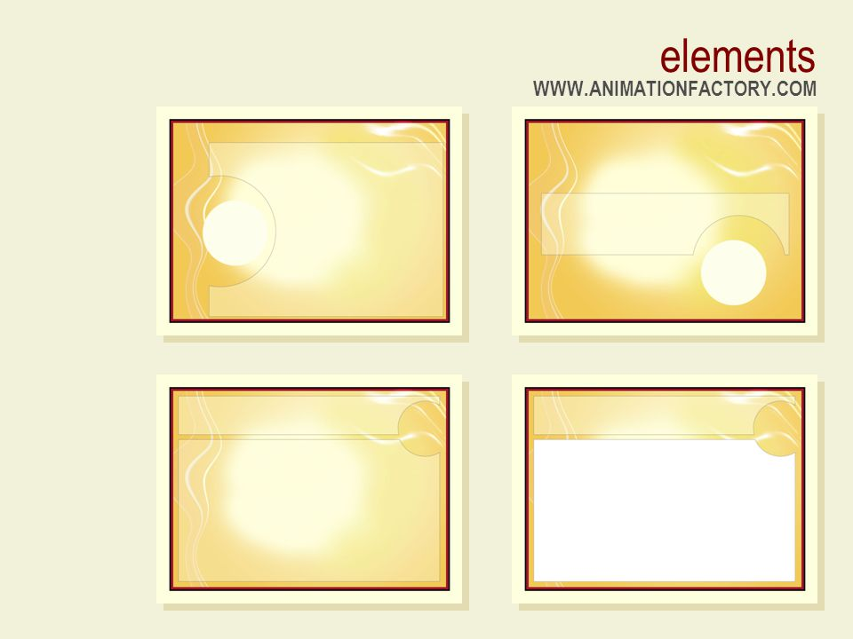 elements WWW.ANIMATIONFACTORY.COM