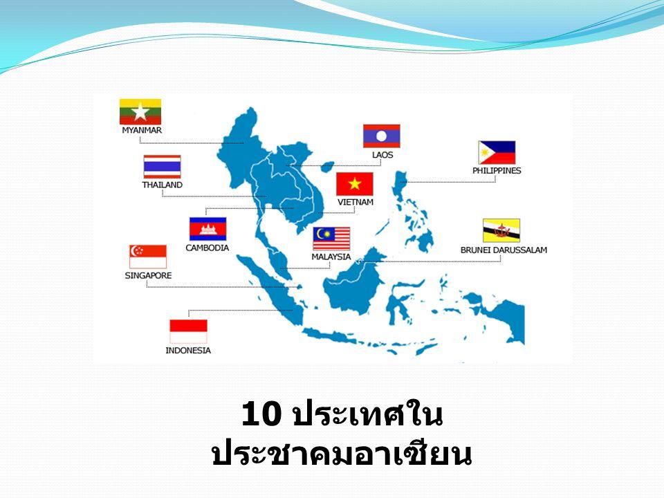 10 ประเทศใน ประชาคมอาเซียน