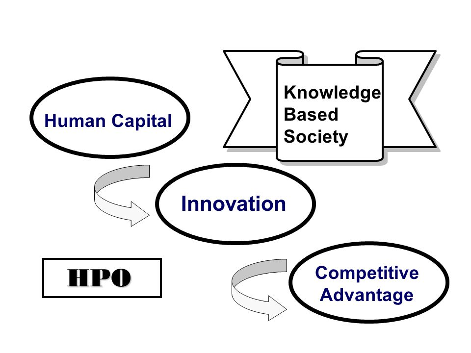 Human Capital Innovation Competitive Advantage HPO Knowledge Based Society