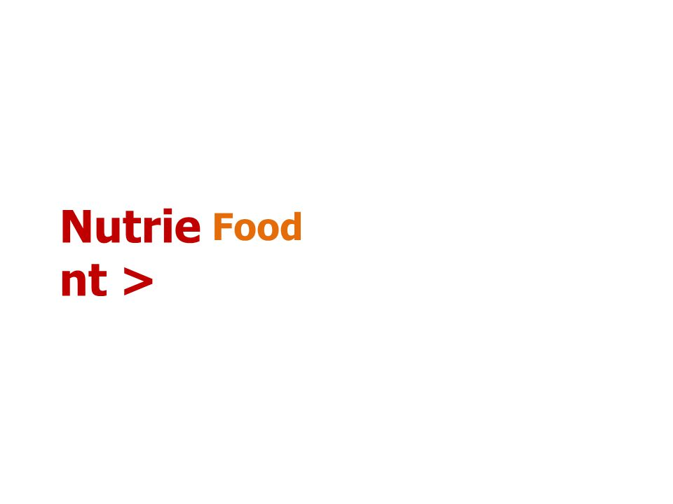 Nutrie nt Provide Energy Support Metabolism 1.Carbohydr ates 2.