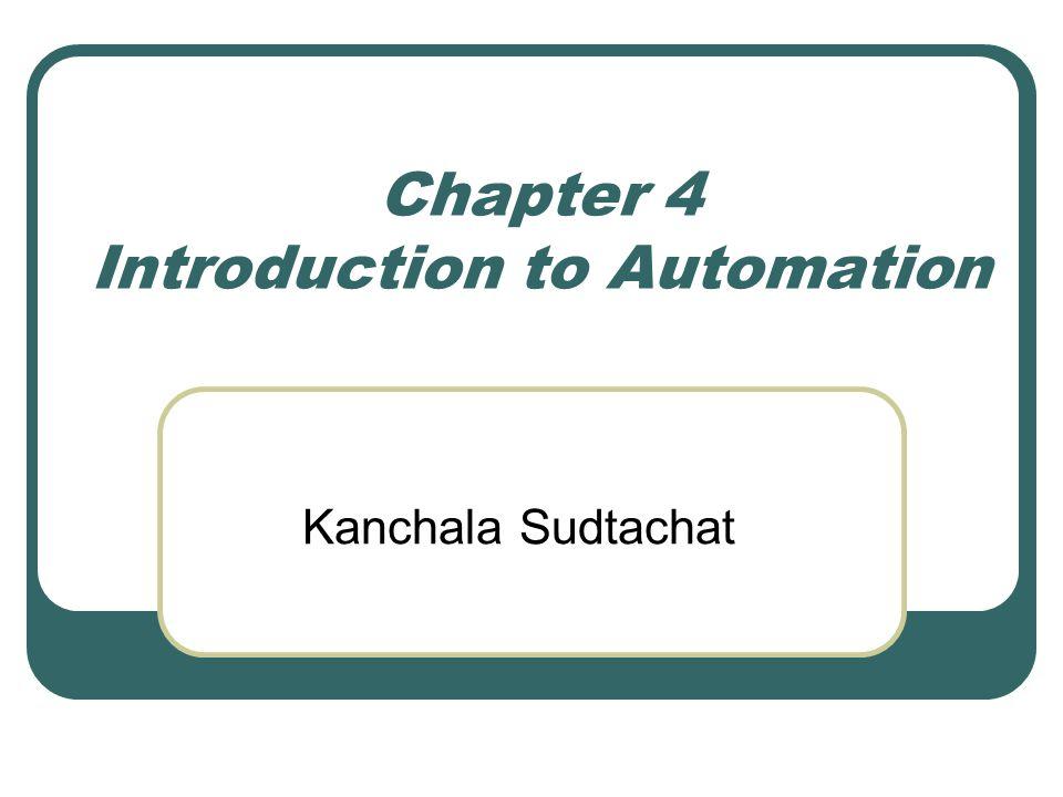 Control System (1) input parameter การกำหนดค่าของ กระบวนการ เพื่อให้ ได้ค่าที่ต้องการของ output (2) process การดำเนินการหรือ หน้าที่ในการ ควบคุม (3) output variable สามารถแปรผันได้ในบาง กรณี และเป็นตัววัดประสิทธิภาพในกระบวนการ เช่น อุณหภูมิ, แรง, อัตราการไหล (4) feedback sensor ถูกใช้เพื่อวัดค่า output ที่ แปรผัน (5) controller เปรียบเทียบ output กับ input และ ปรับค่า (6) actuator เป็น hardware ซึ่งควบคุมกิจกรรม