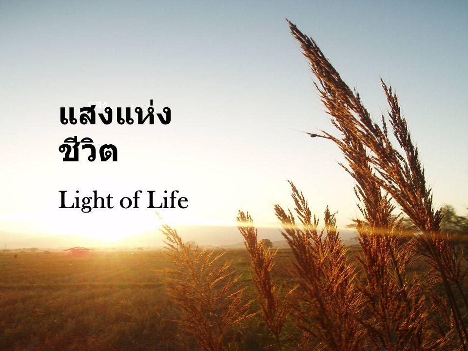 แสง แสงแห่ง ชีวิต Light of Life