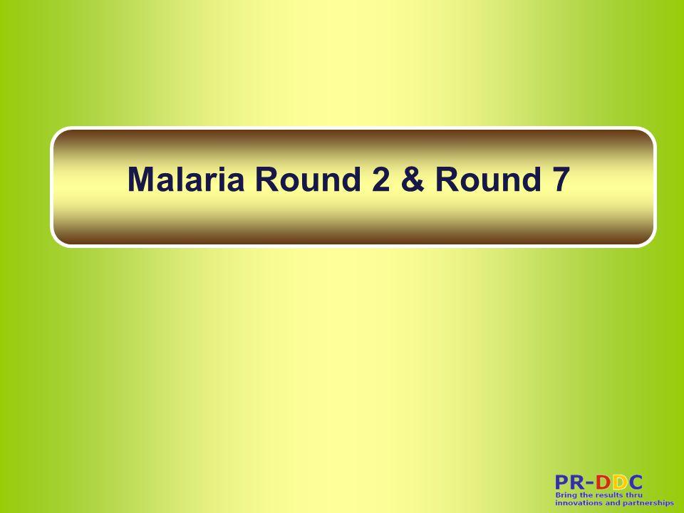 Malaria Round 2 & Round 7