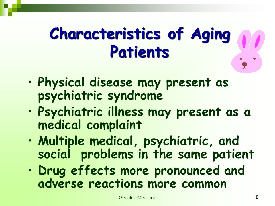 17 Long Term Care For all people who are already older person or suspected to be in the future Older person are heterogeneous: active or functional aging disable and dependence rich and poor educated and noneducated