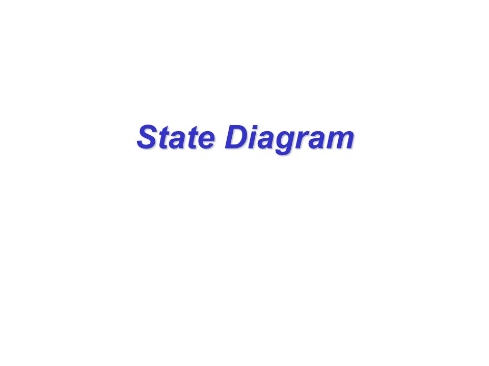 State diagram notation (4) Superstate State-AState-B Event A Event B Event C Composite state: Sequential substates
