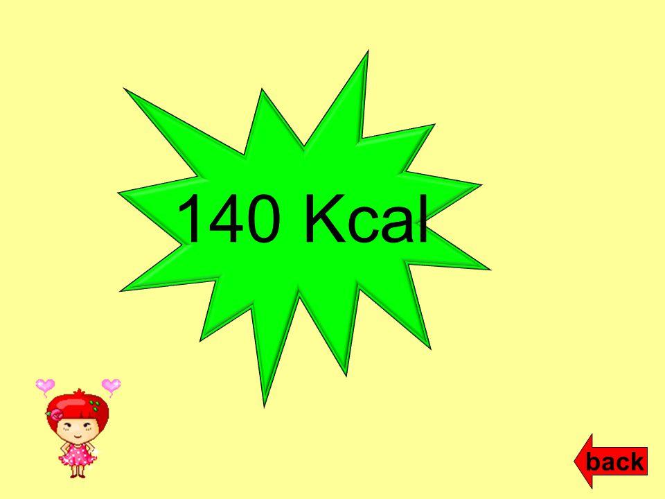 140 Kcal back