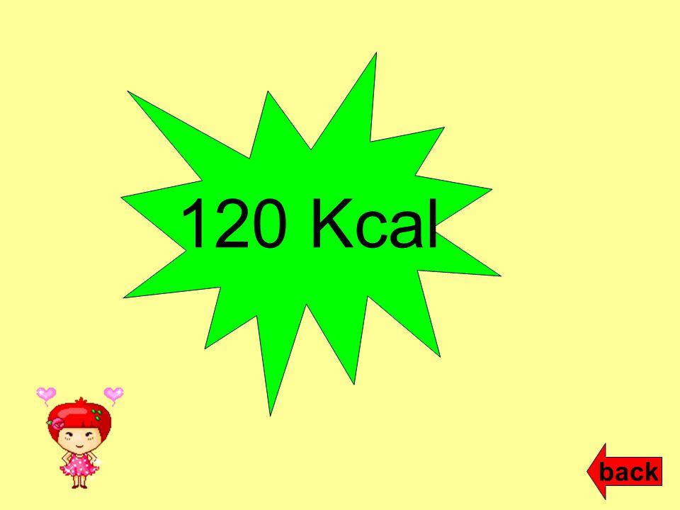 120 Kcal back