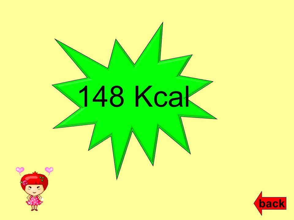 148 Kcal back
