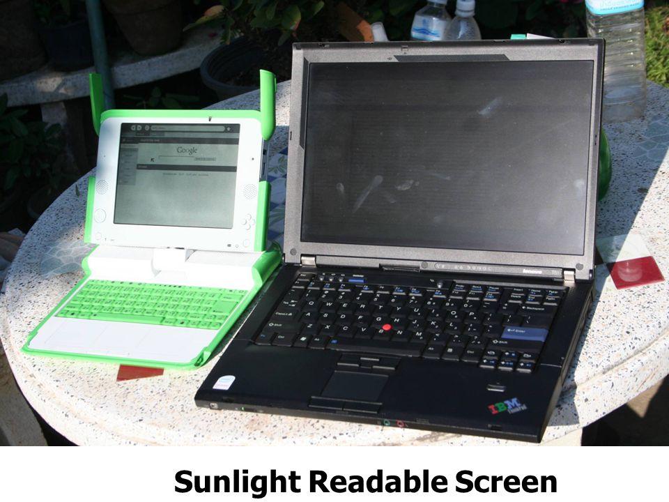 Sunlight Readable Screen