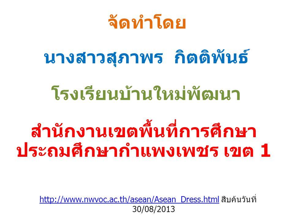 พม่า ลองยี เป็นชุดแต่งกายประจำชาติของประเทศพม่า โดยมีการออกแบบในรูปทรงกระบอก มีความยาว จากเอวจรดปลายเท้า การสวมใส่ใช้วิธีการขมวดผ้า เข้าด้วยกันโดยไม่มัดหรือพับขึ้นมาถึงหัวเข่า เพื่อ ความสะดวกในการสวมใส่
