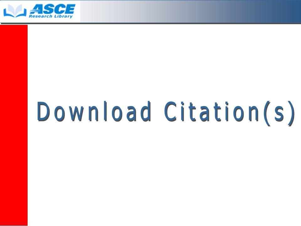 Download Citation 1.คลิกลงในช่องว่างหน้ารายการที่ ต้องการ 1 2.