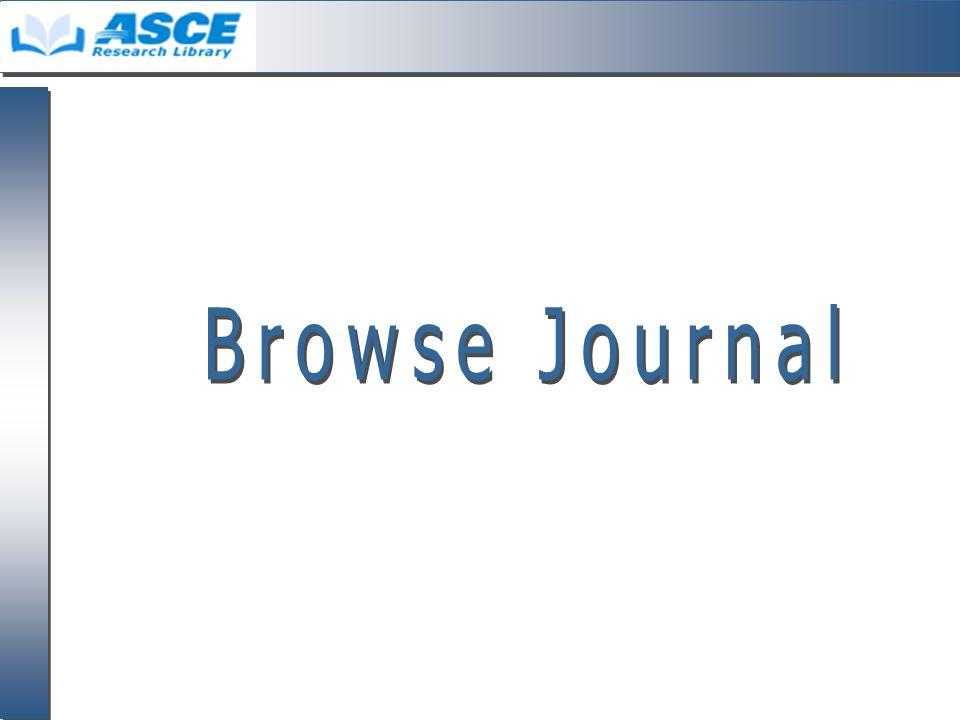 Browse Journal 1.แสดงหน้าสารบัญของ Issue ฉบับ ปัจจุบัน 2.