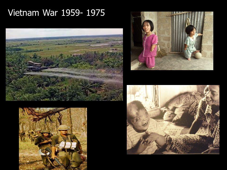 Vietnam War 1959- 1975