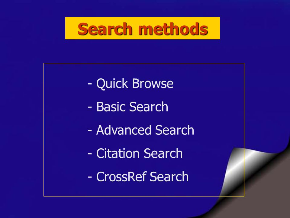 CrossRef Search 29 ความร่วมมือของสำนักพิมพ์ใน CrossRef Investigative Ophthamology and Visual Science Lawrence Erlbaum Associates Medicine Publishing Group Nature Publishing Group Oldenbourg Wissenschaftsverlag Oxford University Press PNAS Royal College of Psychiatrists University of Chicago Press Vathek Publishing John Wiley & Sons Journal of Clinical Oncology Springer-Verlag Taylor & Francis