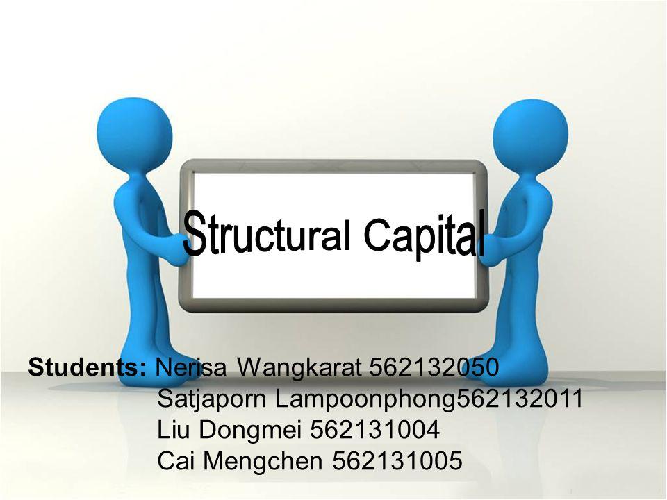 Students: Nerisa Wangkarat 562132050 Satjaporn Lampoonphong562132011 Liu Dongmei 562131004 Cai Mengchen 562131005