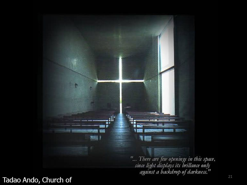 21 Tadao Ando, Church of Light, Japan