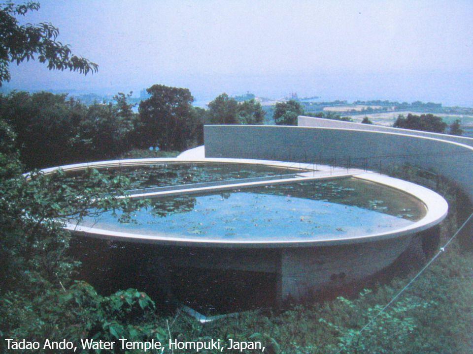 22 Tadao Ando, Water Temple, Hompuki, Japan, 1989-1991