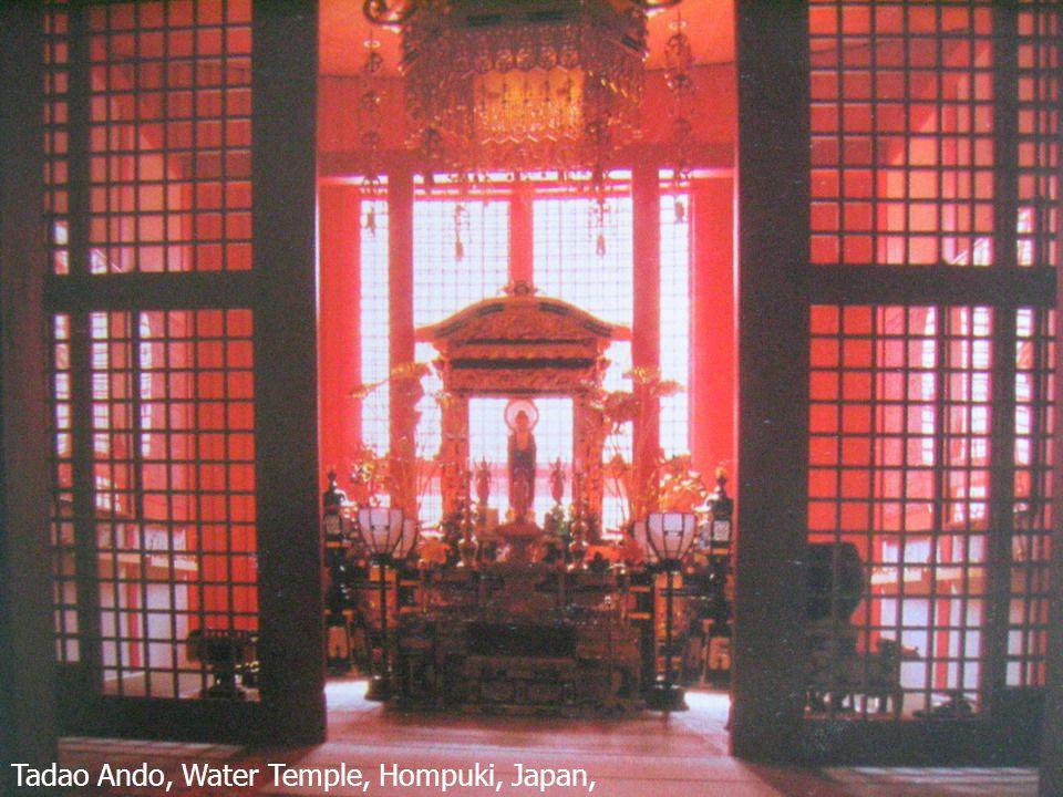 23 Tadao Ando, Water Temple, Hompuki, Japan, 1989-1991