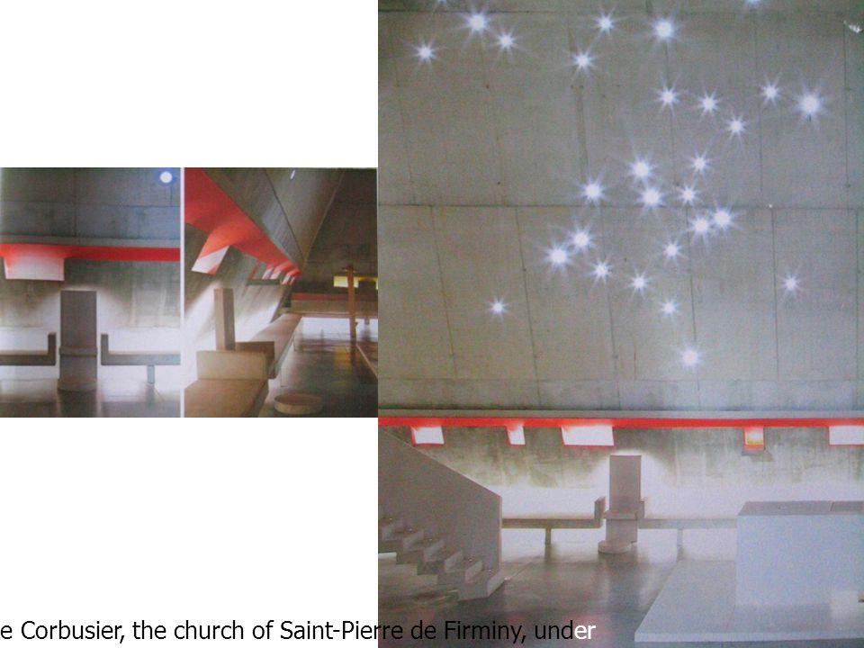 25 Le Corbusier, the church of Saint-Pierre de Firminy, under supervision of Jose Oubrerie, 2005