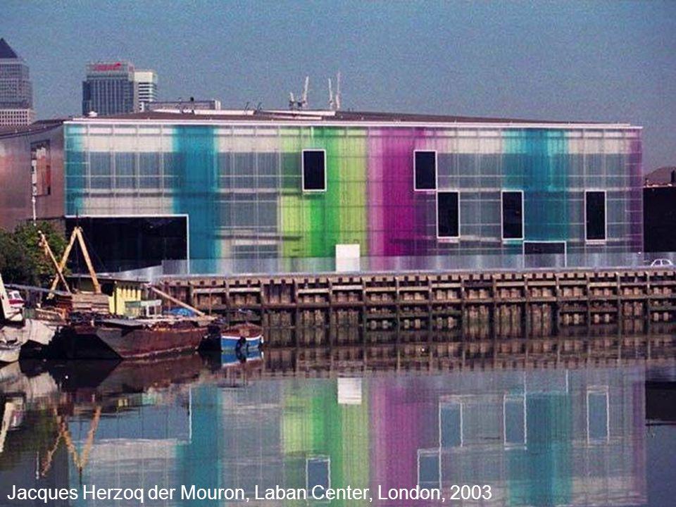 29 Jacques Herzoq der Mouron, Laban Center, London, 2003