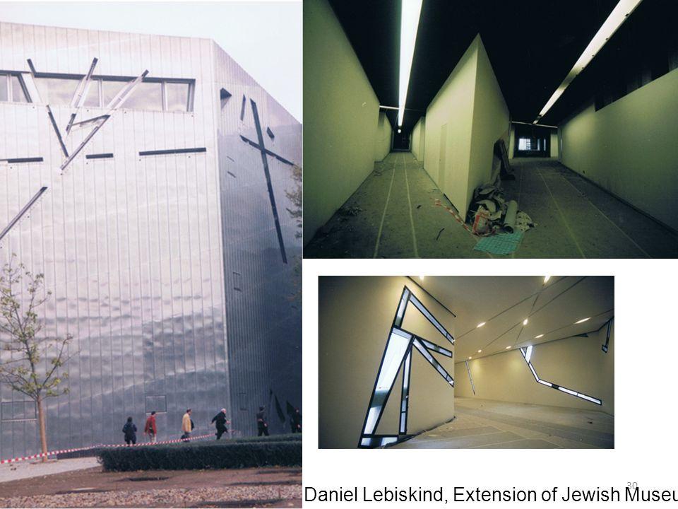 30 Daniel Lebiskind, Extension of Jewish Museum, Berlin, 1998