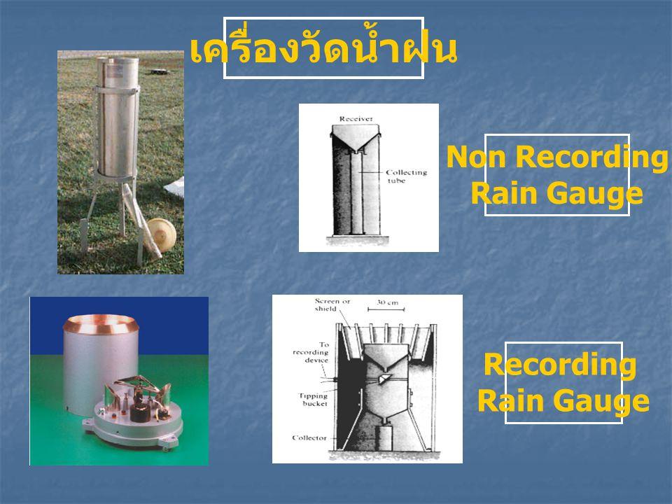 Non Recording Rain Gauge Recording Rain Gauge เครื่องวัดน้ำฝน
