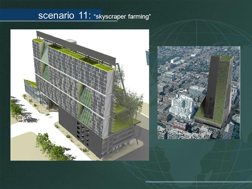 scenario 11: skyscraper farming