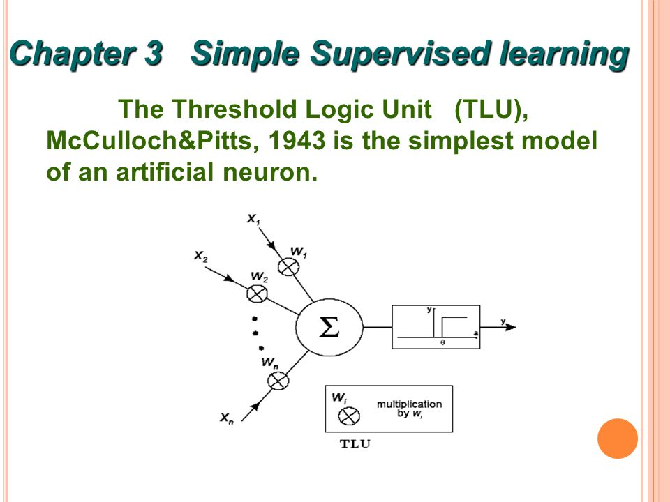 2 TLU is the feedforward structure, which only one of several available.