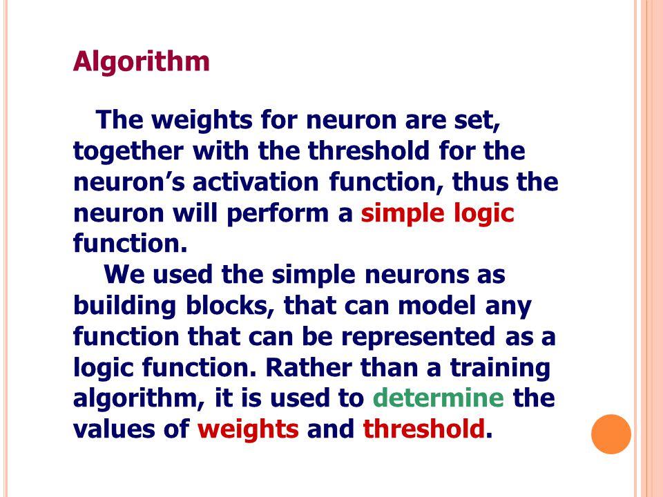 สำหรับ delta rule ใน TLUs จะใช้ activation แทนค่า output (y) จะได้สมการดังนี้ การปรับค่า weight ของ input แต่ละตัว ตาม การทำงานของ TLU โดยปรับช่วง output เป็น -1, 1 จะได้สมการปรับ weight คือ