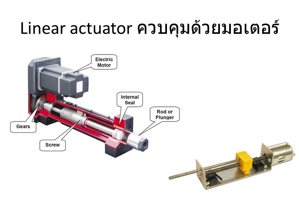 Linear actuator ควบคุมด้วยมอเตอร์