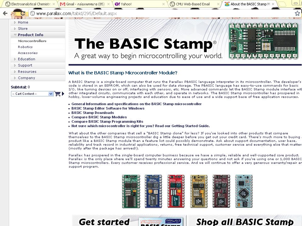 What is a BASIC Stamp microcontroller.