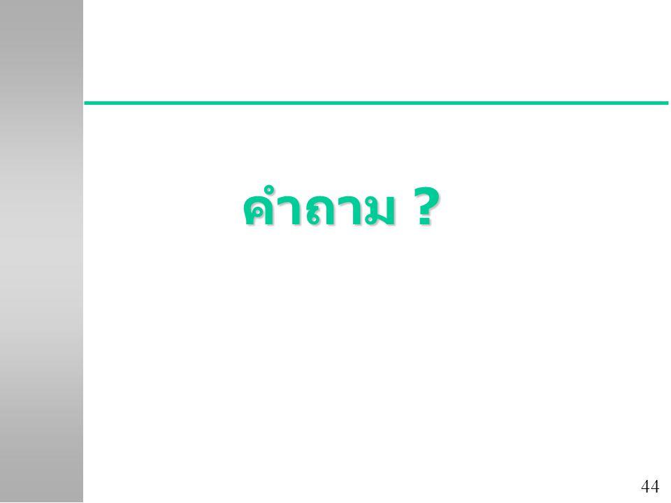 44 คำถาม ?