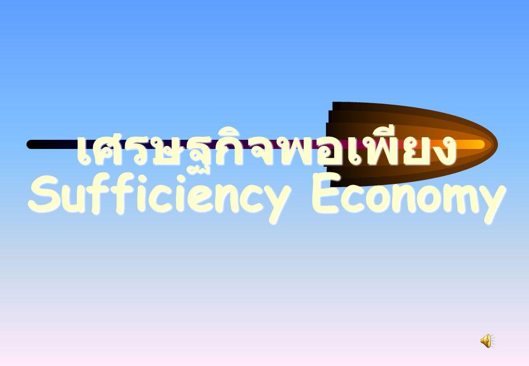 โครงสร้าง ปรัชญาของเศรษฐกิจพอเพียง : ความพอเพียง ความพอประมาณ - ความพอดี ยืนบนชาของตนเอง ความพอประมาณ - รอบคอบ มองระยะยาวคำนึง ความเสี่ยง การมีภูมิคุ้มกัน - เตรียมรับ กับการเปลี่ยนแปลง สร้าง ภูมิคุ้มกัน