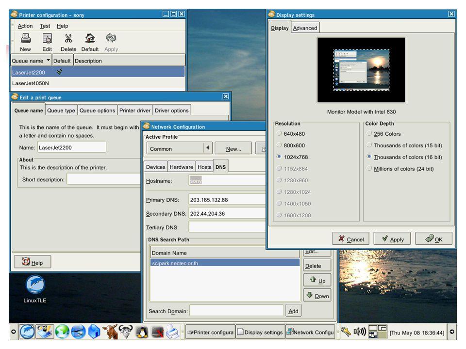 Opensource กับการพัฒนาเทคโนโลยีสารสนเทศของไทย 23/6/200364