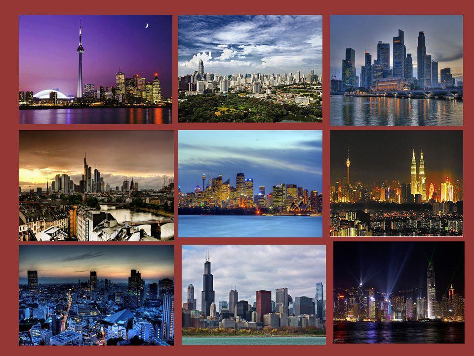 อันดับที่ 10 โตรอนโต ประเทศแคนาดา โตรอนโต มักติดอันดับท็อปเทนเป็นเมืองที่มีวิวตึกระฟ้า สวยงามที่สุดในโลกเสมอ เมืองดังกล่าวไม่เพียงเป็น ที่ตั้งของอาคาร CN Tower ซึ่งมีความสูงมากที่สุดใน ทวีปอเมริกาเหนือ (553 เมตร ) เท่านั้น หากยังเต็มไป ด้วยตึกสูงมากมาย ที่กระจายตัวอยู่ริมชายฝั่งทะเลสาป ออนตาริโอ