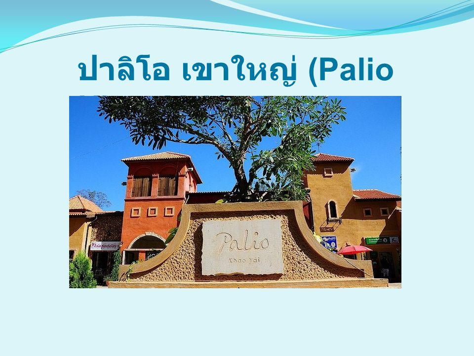 Palio Khao Yai walking street & shopping center ที่นี่สะดุดตาด้วยการออกแบบ และสร้างเป็นแบบ ถนน walking street ช็อปปิ้ง เหมือนเมืองโบราณ ทางยุโรป ร้านค้ามากมายที่ตั้งอยู่ใน ปาลิโอ นี้ มีร้านของแต่งบ้าน เสื้อผ้า แฟชั่น เครื่องประดับ งาน design ต่างๆ ร้านไวน์ Coffee Shop Pub & Restaurant Bakery ร้านเสริมสวย ร้านหนังสือ ศูนย์อาหาร ร้านขายของ เก่าและของมือสอง ร้าน IT และอีก มากมาย