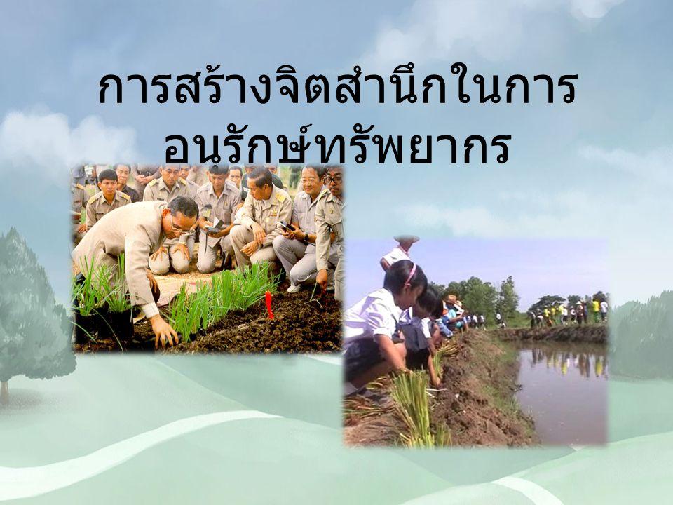 วิธีการอนุรักษ์ดินและน้ำ วิธีการที่นำมาใช้ในพื้นที่หนึ่งโดยมี วัตถุประสงค์เพื่อยับยั้งหรือชะลออัตราการชะล้าง พังทลายของดิน โดยอาศัยหลักการสำคัญ คือ เมื่อฝนตกลงมาในที่ใดที่หนึ่งจะพยายามให้มีการ เก็บกักน้ำไว้ ณ ที่นั้นเพื่อให้น้ำไหลซึมลงไปในดิน เป็นประโยชน์แก่พืชที่ปลูก กลับ