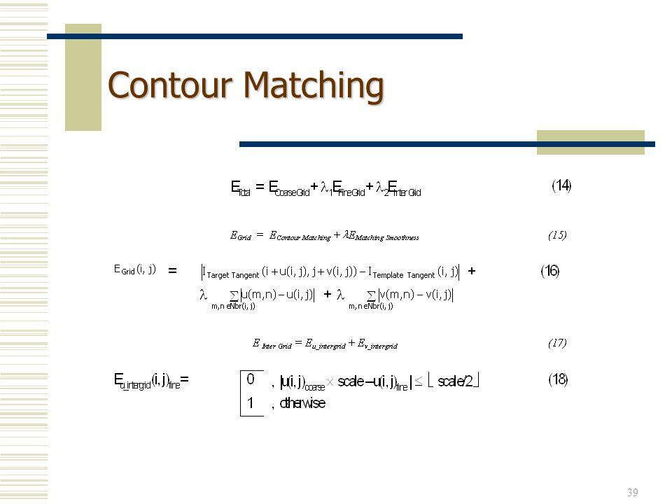 39 Contour Matching