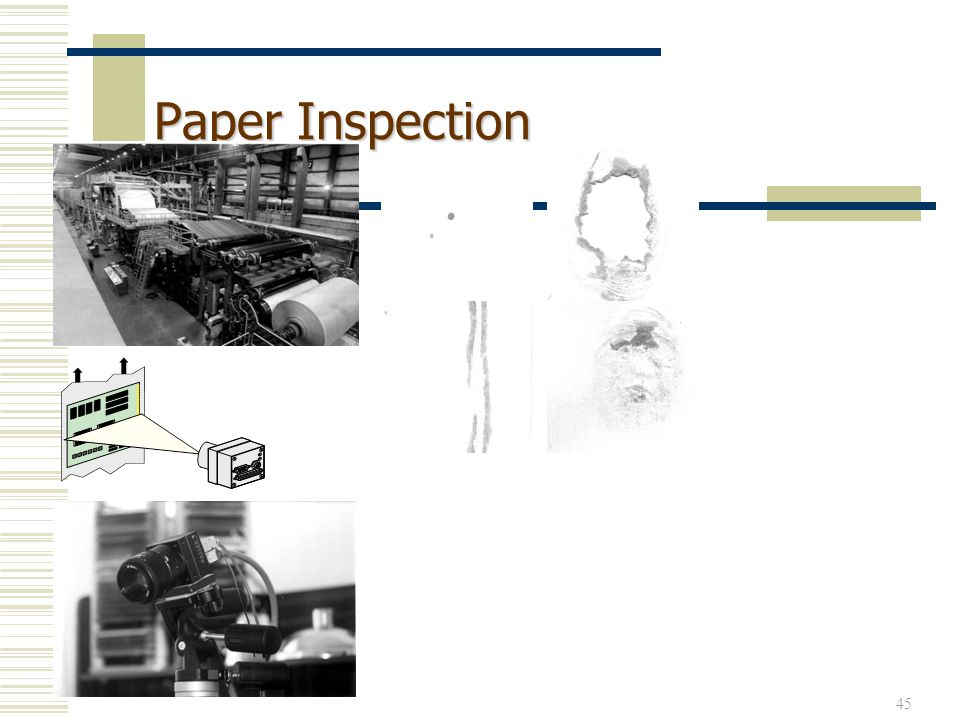45 Paper Inspection
