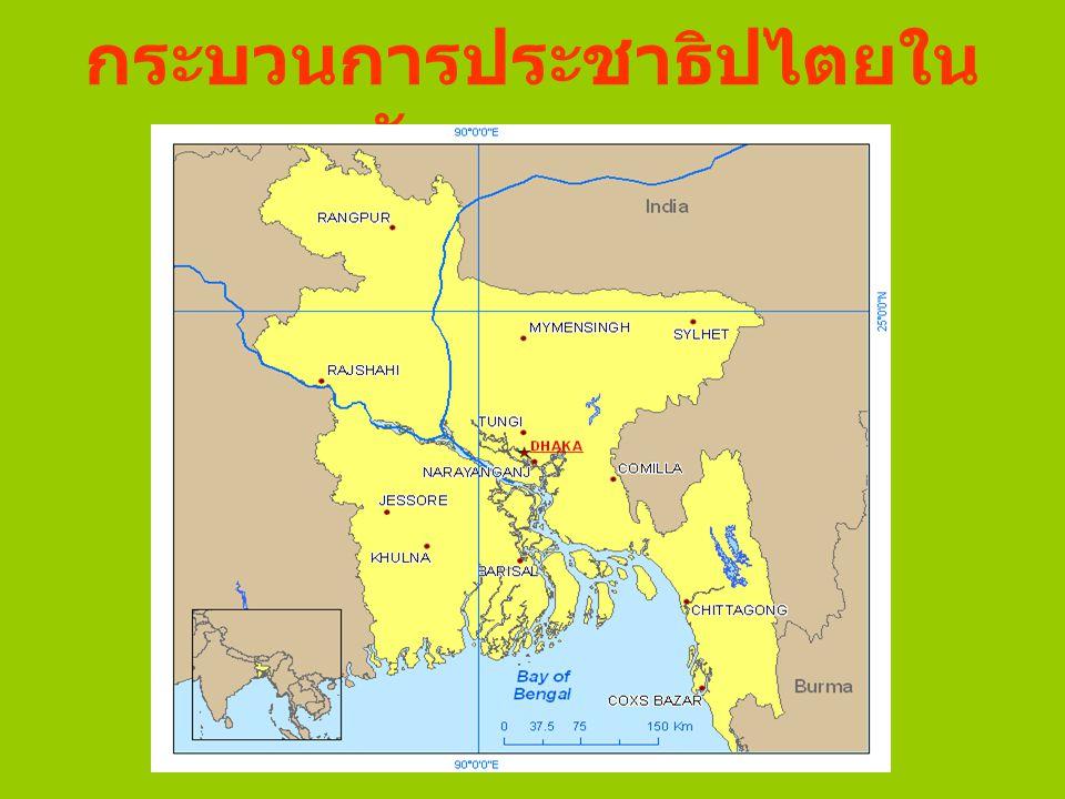 กระบวนการประชาธิปไตยใน บังกลาเทศ