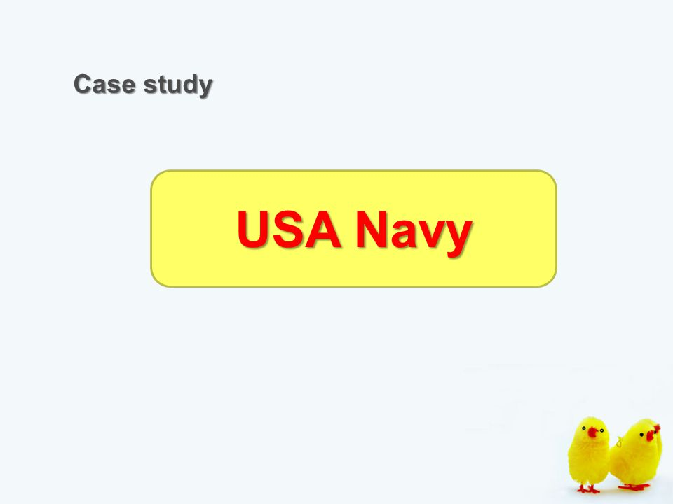 Case study USA Navy
