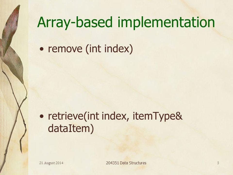 21 August 2014 204351 Data Structures 16 Sorted linked list การหาตำแหน่งที่จะ insert หรือ delete สำหรับ sorted linked list find (itemType newItem) prev = null; cur = head; while(newItem>cur.item and cur!= null) prev = cur; cur = cur.next;