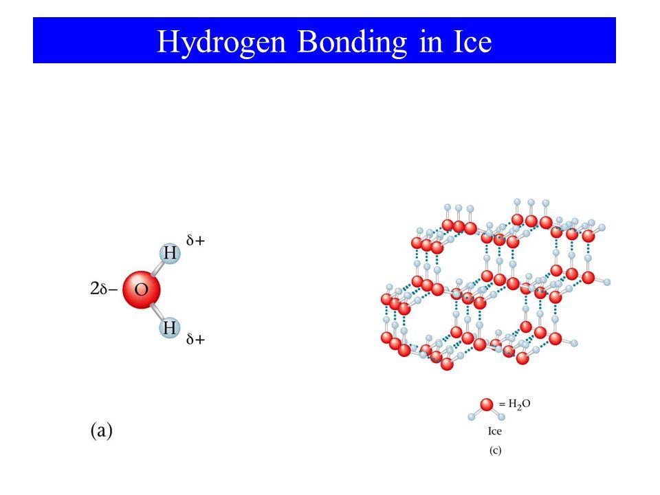 Density of Liquid Water 1.00 g/mL ที่ 4 O C 0.92 g/mL ที่ 0 O C