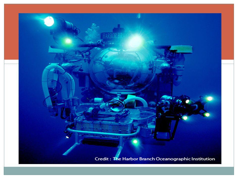 ยานสำรวจใต้ทะเลลึก THE HARBOR BRANCH OCEANOGRAPHIC INSTITUTION