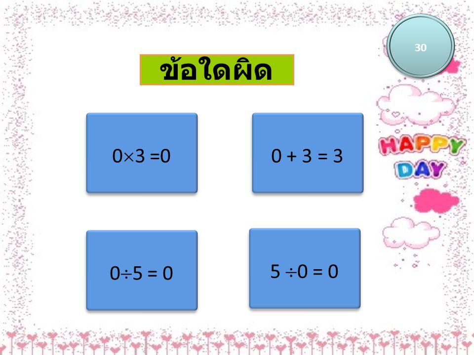 ข้อใดไม่ใช่ผลสำเร็จของผลคูณ ระหว่าง a กับ -b 30 -ab-ba a(-b) -(ab)