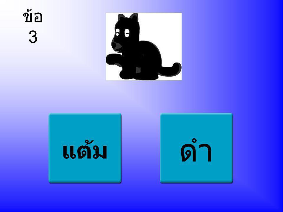 ข้อ 4 ลูกแมว อีกา ปู จับคู่รูปภาพกับความหมาย