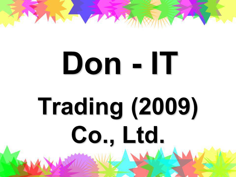 Don - IT Trading (2009) Co., Ltd.