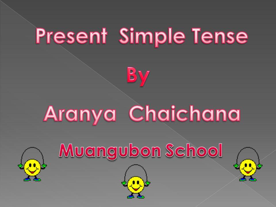 1.นักเรียนสามารถอธิบายโครงสร้างของประโยค Present Simple Tense ได้ 2.
