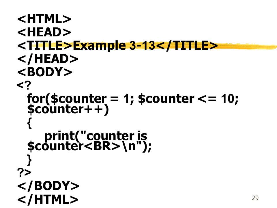 29 Example 3-13 <.
