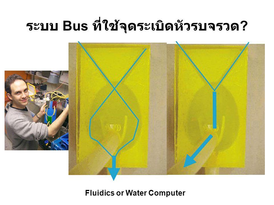 ระบบ Bus ที่ใช้จุดระเบิดหัวรบจรวด ? Fluidics or Water Computer